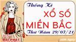 Thống Kê XSMB 29/07/2021 Hôm Nay Thứ 5 - Thống Kê Xổ Số Miền Bắc Đại Phát
