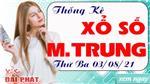 Thống Kê Xổ Số Miền Trung 03/08/2021 - Thống Kê XSMT Thứ 3 Ngày 03/08/2021