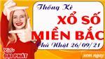 Thống Kê XSMB 26/09/2021 Hôm Nay - Thống Kê Xổ Số Miền Bắc Chủ Nhật