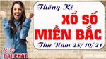 Thống Kê XSMB 28/10/2021 Hôm Nay Thứ 5 - Thống Kê Xổ Số Miền Bắc Đại Phát